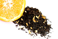 Tangerine tea Royalty Free Stock Image
