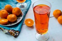 Tangerine tea Stock Photos