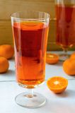Tangerine tea Stock Photography