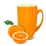 Tangerine tea Stock Photography