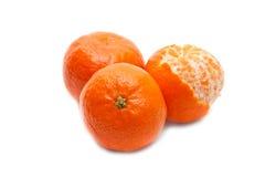tangerine trzy Fotografia Stock