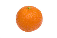 Tangerine on a white background Stock Image