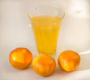 Tangerine witaminy koktajl Obraz Stock