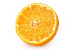 Tangerine z segmentami obrazy royalty free