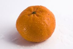 Tangerinefrucht getrennt Stockfotos