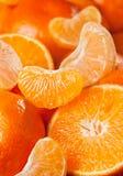 Tangerinefrucht-Vertikalenhintergrund Stockfoto