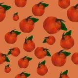 Tangerinemuster Lizenzfreie Stockfotos