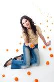 Tangerinephantasie Lizenzfreie Stockfotografie