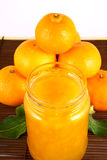 tangerines μαρμελάδας Στοκ Εικόνες