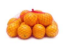 Tangerines в решетке Стоковые Фотографии RF