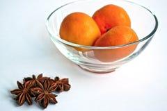 Tangerines и анисовка Стоковое Изображение RF