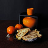 tangerines штрудели Стоковые Изображения RF