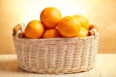 tangerines Obrazy Stock