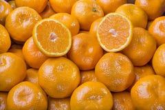 Tangerines Στοκ Εικόνες