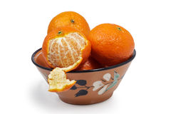 Tangerines Стоковые Изображения RF
