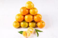 tangerines Fotografia de Stock Royalty Free