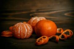 tangerines Obrazy Stock