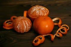 tangerines Στοκ φωτογραφίες με δικαίωμα ελεύθερης χρήσης