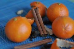 tangerines Imagens de Stock