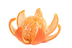 Tangerines. Isloated on white background Stock Photo