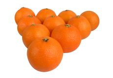 tangerines Obraz Royalty Free