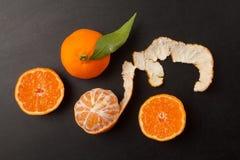tangerines Стоковая Фотография RF