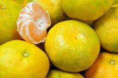 tangerines Arkivfoton