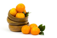 Tangerines in a bowl Royalty Free Stock Photos