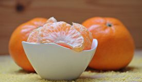 Tangerines, Citrus, Fruit Royalty Free Stock Photography