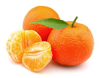 Tangerines closeup Royalty Free Stock Photography