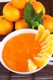 Tangerines da geléia Imagens de Stock