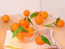 Tangerines doces fotos de stock