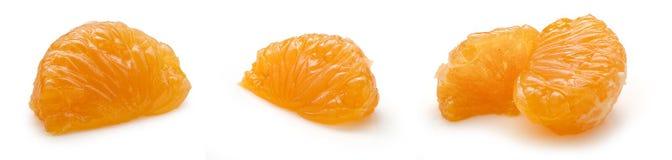 Tangerines lobule Stock Image