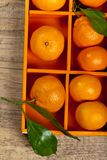 Tangerines or Mandarin orange Stock Photos