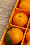 Tangerines or Mandarin orange Stock Photo