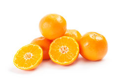 Tangerines or mandarins Stock Photo