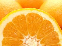Tangerines and orange Stock Photos
