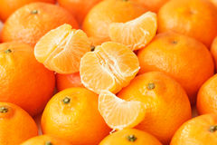 Tangerines rich in vitamin C Royalty Free Stock Photography