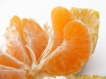 Tangerinescheiben der Tangerine Bild-mit viel von viel des Vitamins Stockfotografie