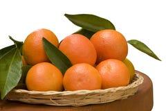 Tangeringes Foto de Stock