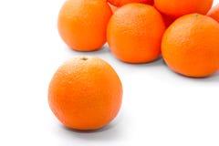tangerins oranges lumineux savoureux Photo libre de droits