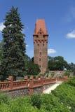 Tangermuende-Turm Stockbild
