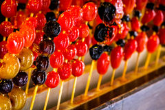 Tanghulu Traditional Candied Fruit Stick Royalty Free Stock Photography
