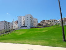 tangier city. Nice view in tangier city new town Stock Image