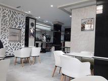 Tangier  coffee. Coffee room en tangier boulevard  2017 Stock Photo