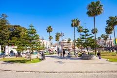 Tangier i Marocko Arkivbild