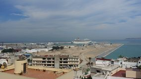Tangier marinaport Arkivbilder
