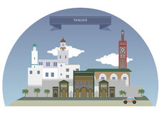 Tangier, Morocco. Major city in northern Morocco Stock Images