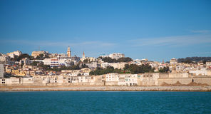 Tangier port panorama, Morocco Stock Photography