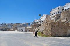 Tangier, Tangiers, Tanger, Maroko, Afryka, afryka pólnocna, Maghreb wybrzeże, cieśnina Gibraltar, morze śródziemnomorskie, Atlant Zdjęcia Stock